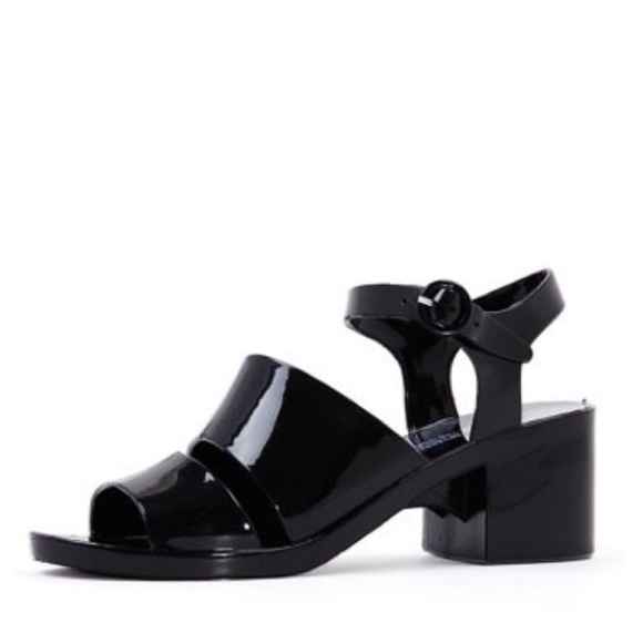 b4932d8b09a0 American Apparel Black Classic Jelly Heel
